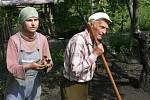 Iva Adamová se svým otcem Karlem Kuběnou