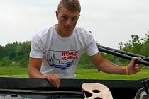 Břeclavský veslař Martin Mikýsek.
