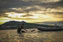 Evropský rybářský závod v lovu kaprů na Novomlýnské nádrži