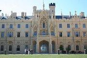 Lednický zámek má za sebou opravy fasády za 130 milionů korun.