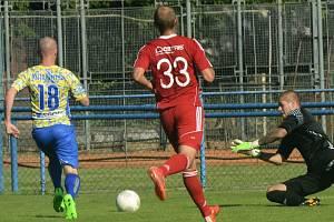 Na první pohled to vypadalo jako poměrně vyrovnaná bitva. Na ukazateli skóre však na konci úterního utkání třetího kola Mol Cupu mezi Břeclaví a Baníkem Ostrava svítilo hrozivých 0:6.