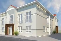 Budova nového zdravotního střediska ve Velkých Bílovicích.
