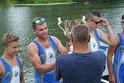 Slovácká regata se konala o víkendu na řece Dyji v Břeclavi. Tradičních veslařských závodů se zúčastnil i český olympionik Lukáš Helešic.