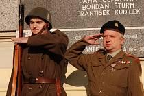 Pietní akt u příležitosti Dne válečných veteránu v Břeclavi.