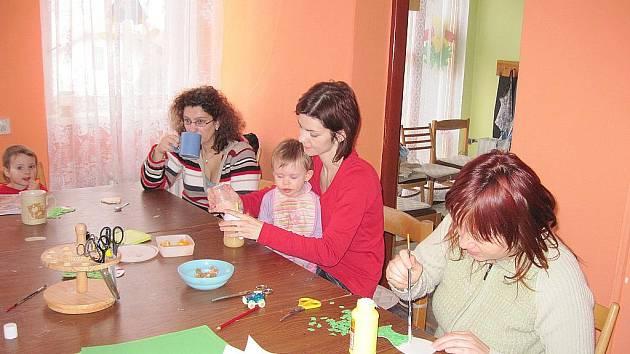 Klub pro maminky s dětmi s názvem Budulínek.