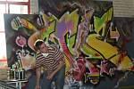 Břeclavský cukrovar v sobotu přivítal graffiti umění.