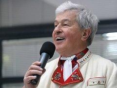 Folklorista Jožka Černý ze Staré Břeclavi.