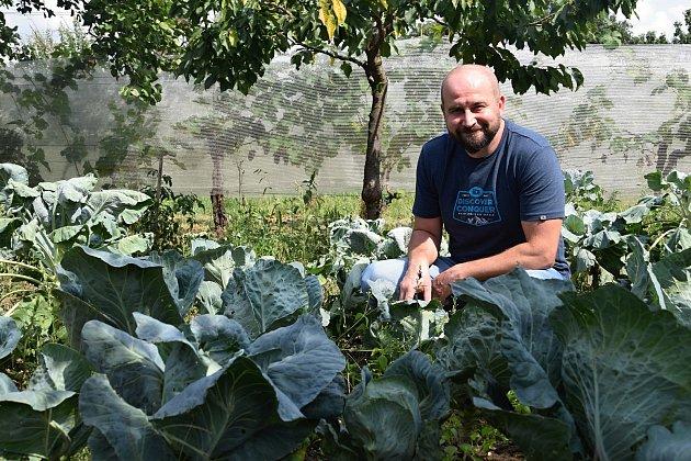 Alaadin Ibo a jeho manželka Lenka Kugler provozují vBořeticích Alaadinovu farmu.
