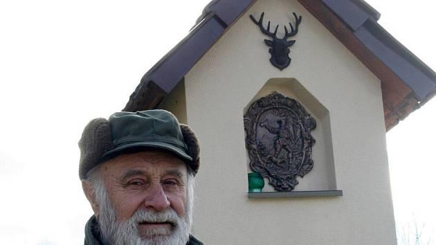 Předseda Mysliveckého sdružení Přítluky Milan Cabal.