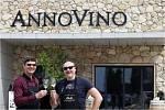 Zpěvák Marian Vojtko je kmotrem vinařství Annovino Lednice.