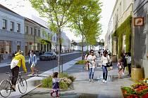 Břeclavští chystají revitalizaci centra města včetně Nábřeží Komenského