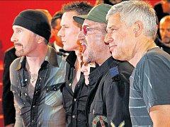 Irská skupina U2.