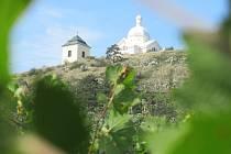 Svatý kopeček z vinic.