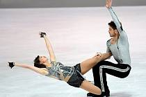Myslivečková s Brownem letos nacvičili úplně nové choreografie.