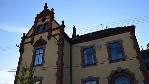 Břeclav Poštorná Havlíčkova vila po rekonstrukci.