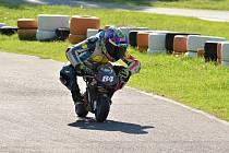 Pilot minimoto Matyáš Pálka