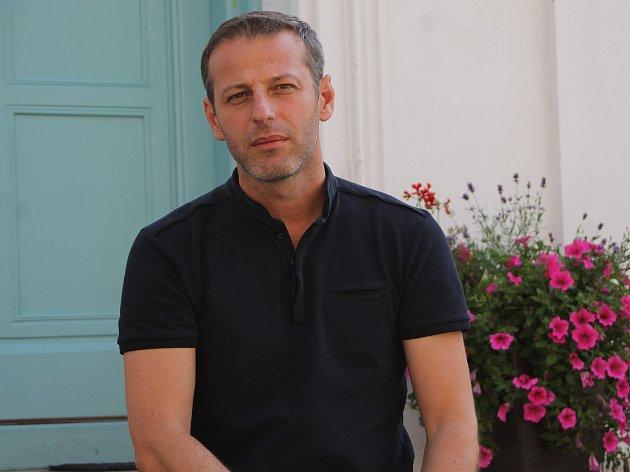 Houslista, umělecký ředitel a dramaturg Lednicko-valtického hudebního festivalu Jiří Partyka.