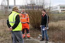 Město Břeclav předalo stavebníkům plochu u tamní nemocnice, kde vznikne celkem 264 nových parkovacích míst.