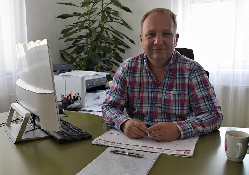 Kostický starosta Libor Balga