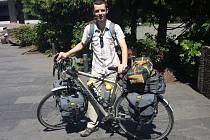 Jan Najman z Hustopečí projel na kole napříč Amerikou. Za necelých devadesát dnů ujel 8300 kilometrů.