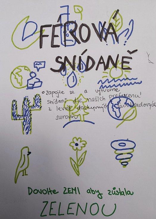 Studenti z Mikulova se zapojili do akce Férová snídaně.