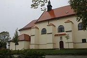 Kostel ve Velkých Pavlovicích.