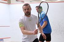Břeclavský squashista Ladislav Burián.