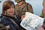 Na slavnostní výlov Vrkoče se přijela podívat i ministryně financí Alena Schillerová, pasovali ji do cechu.