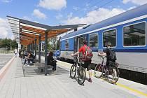 Turisté mohou od května opět využít cyklopůjčovnu Českých drah ve stanici v Břeclavi.