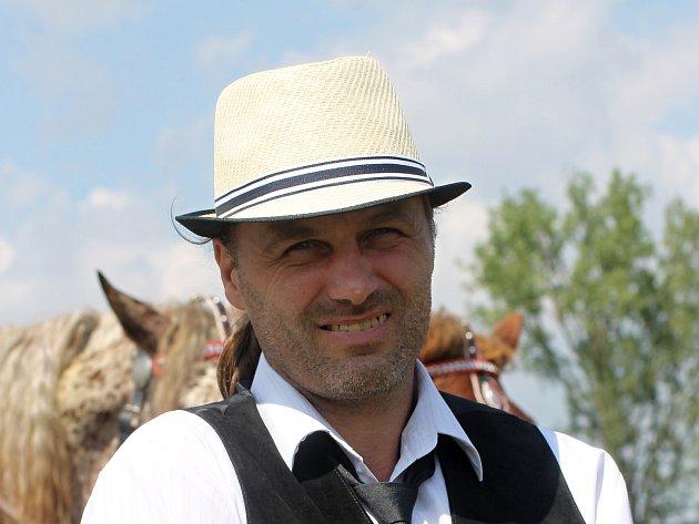 Tomáš Kratochvíl se vozatajství věnuje několik let.