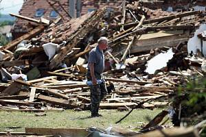 Likvidace škod po řádění tornáda na jihu Moravy