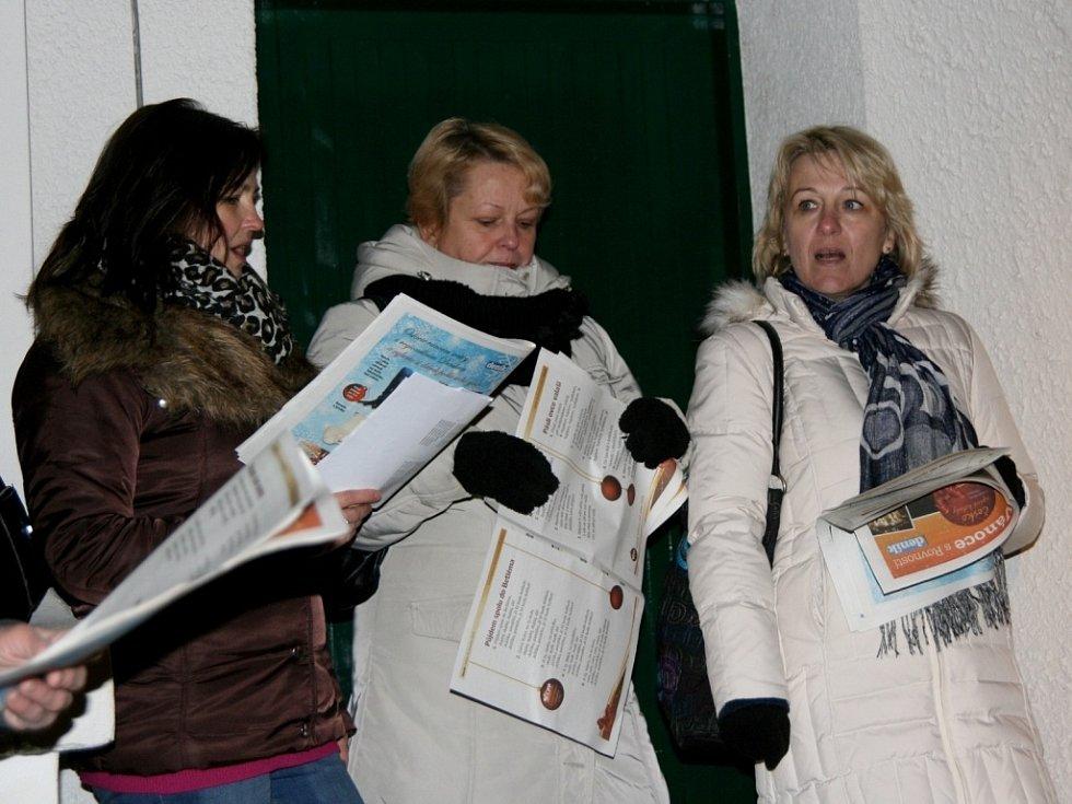 Do projektu Deníku Rovnost Česko zpívá koledy se letos poprvé zapojili i v Břeclavi.