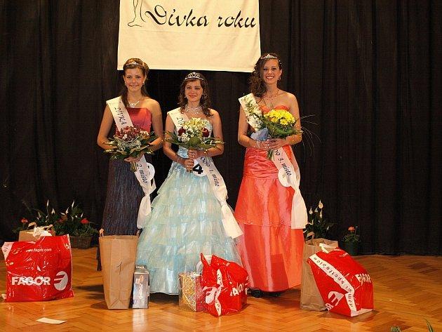 Vítězkou soutěže určené pro slečny od třinácti do patnácti let  Dívka roku se stala Andrea Žiačiková z Brna