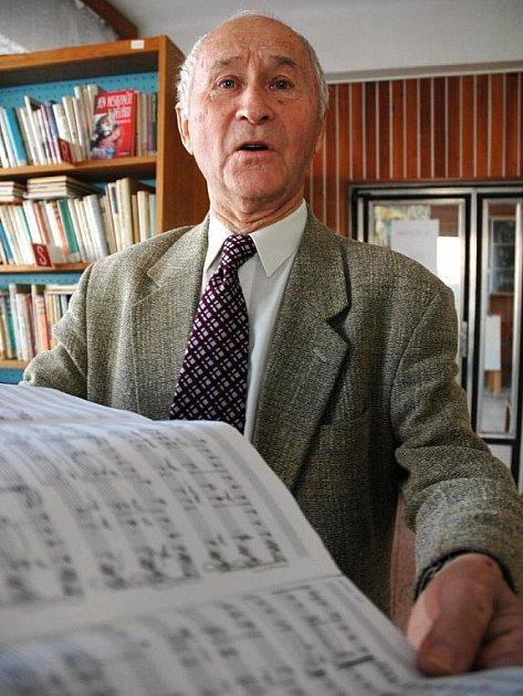 Hudebník Jan Němec převzal ocenění Senior Prix 2009.