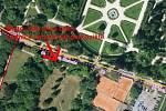 V Lednici se má vybudovat parkoviště namísto veřejné zeleně v parčíku mezi ulicemi Slovácká a Břeclavská.