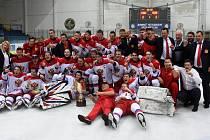 Vítězem posledního ročníku turnaje Hlinka Gretzky Cup v roce 2019 se stali ruští hokejisté.