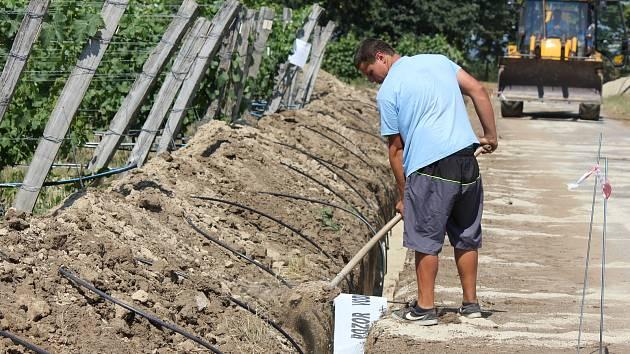 Zahradnická fakulta Mendelovy univerzity v Lednici bude mít nový závlahový systém za dvanáct milionů.