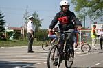 Školáci si vyzkoušeli bezpečnou jízdu