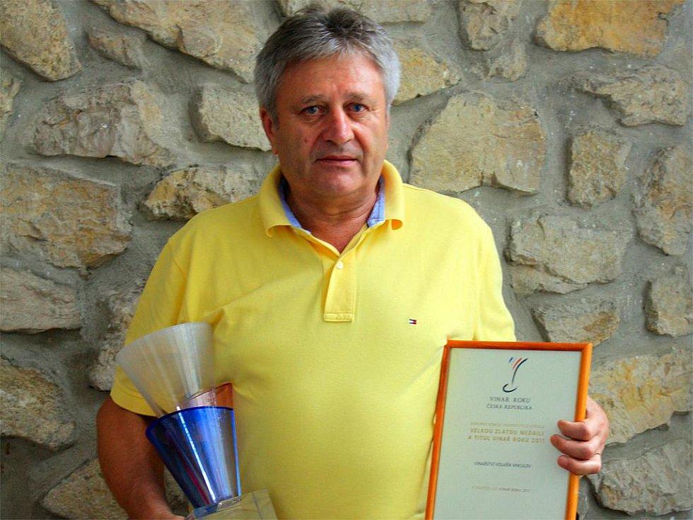 Vinař Miroslav Volařík z Mikulova (Vinařství Volařík).