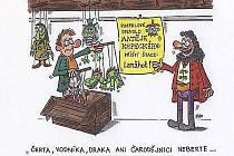 Lanžhotská komunální politika inspiruje i tamního kreslíře Milana Kocmánka. Úsměvný postřeh, kterým chtěl zmírnit napětí při posledních volbách, se dotýká právě komunisty Petra Uhlíře. Ten je totiž známý pod přezdívkou Kašpárek.