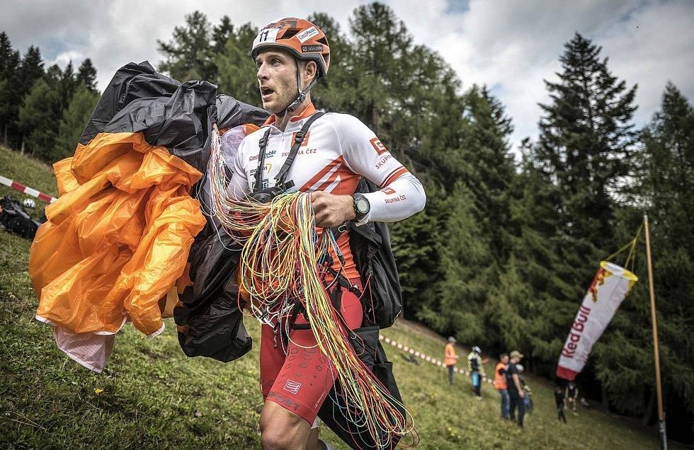 Nadšenec do extrémních sportů Michal Krysta z Týnce na Břeclavsku.