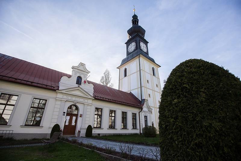 Zámek Žďár nad Sázavou.