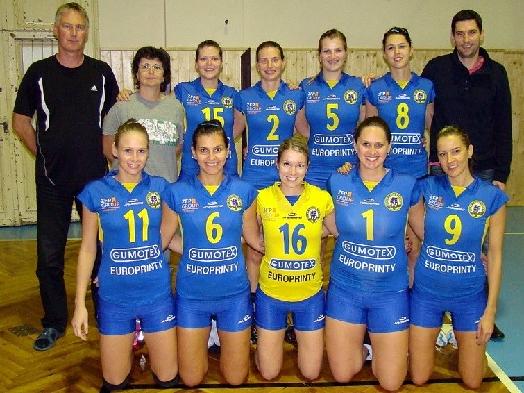 Břeclavským volejbalistkám se letos nedaří. V osmi zápasech vyhrály jen šest setů.
