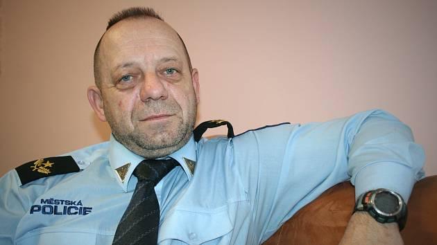 Velitel městské policie v Břeclavi Stanislav Hrdlička.