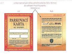 Vedení města zavádí v Břeclavi karty pro krátkodobé parkování v rezidentních zónách.