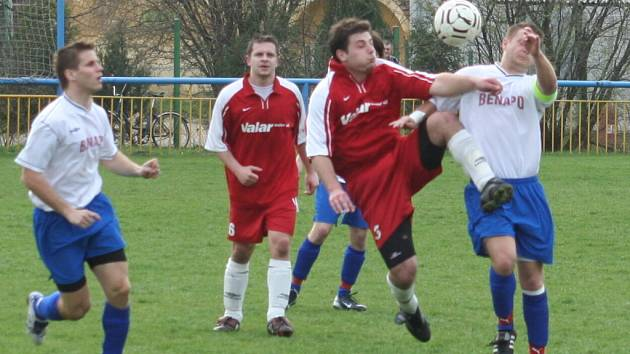 Fotbalisté Tvrdonic se s Vacenovicemi rozešli remízou