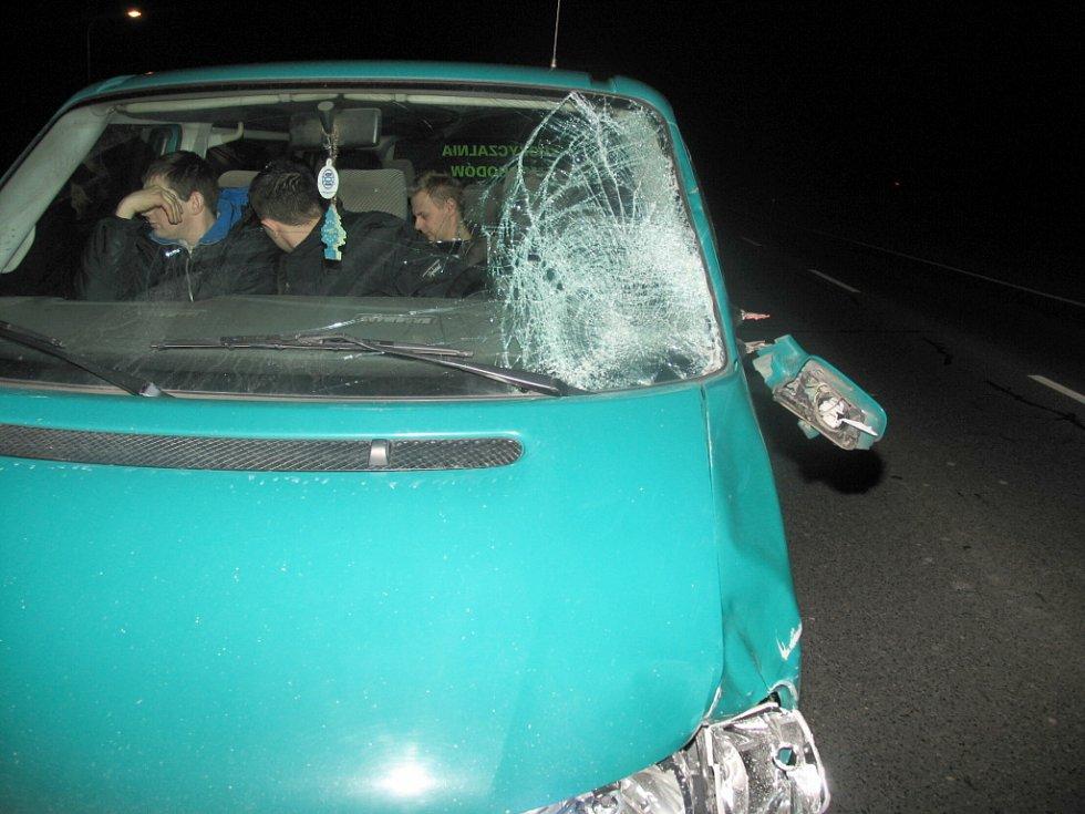 Smrtelná nehoda u Mikulova.