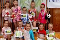 Nejmenší naděje břeclavské sportovní gymnastiky ve Žďáru nad Sázavou.