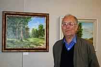 Výstava hodonínských umělců v Galerii 99 v Břeclavi.