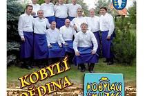 Obal alba Mužáků z Kobylí.